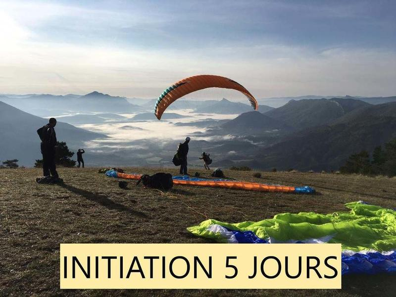 Stage parapente (initiation et/ou progression)