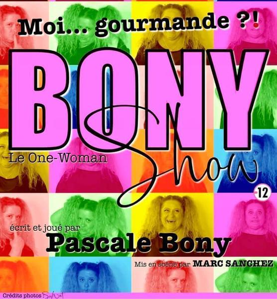One woman show Pascale Bony