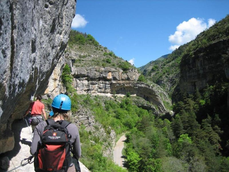 Via-ferrata des Gorges d'Agnielles (facile)