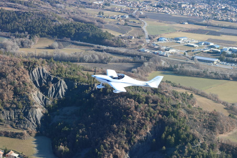 Vol d'initiation ULM avec Alpine Flying School